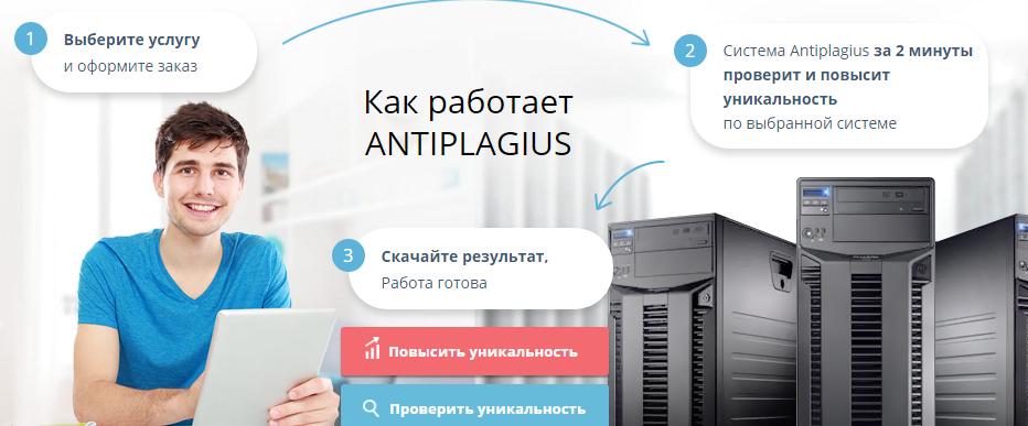 Антиплагиат онлайн для поверки текста