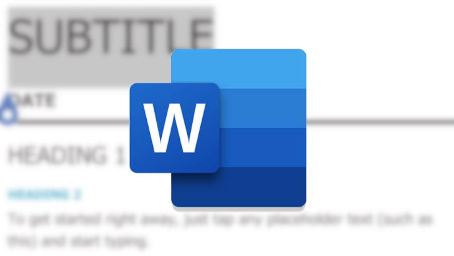 Документ в Microsoft Word